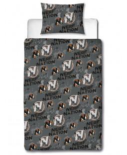 Nerf Blast Single Duvet Cover and Pillowcase Set