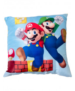 Nintendo Super Mario Gang Filled Cushion