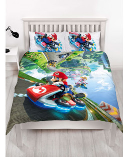 Nintendo Super Mario Gravity Double Duvet Cover Set