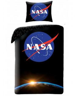 Juego de funda nórdica de algodón individual NASA Earth - Tamaño europeo