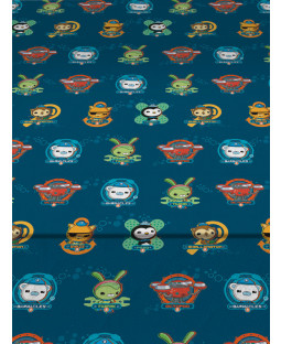 Octonauts Crew Single Fitted Sheet