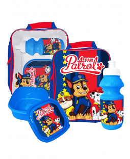 Paw Patrol 3 Piece Lunch Bag Set - Blue
