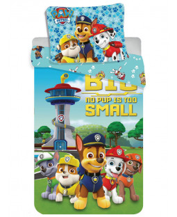 Paw Patrol No Pup Is Too Small Single Duvet Cover Set