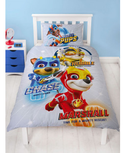 Paw Patrol Super Single Panel Duvet Cover Set
