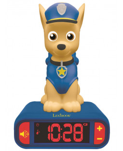 Paw Patrol Chase Night Light Alarm Clock