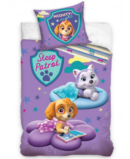Paw Patrol Sleep Patrol Single Cotton Duvet Cover Set