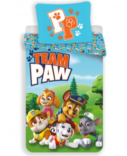 Paw Patrol Team Paw Single Duvet Cover Set