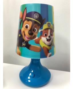 Paw Patrol Blue Table Lamp