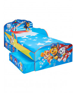 Paw Patrol Toddler Bed with Storage