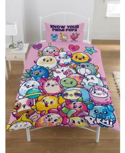 Pikmi Pops Single Duvet Cover and Pillowcase Set