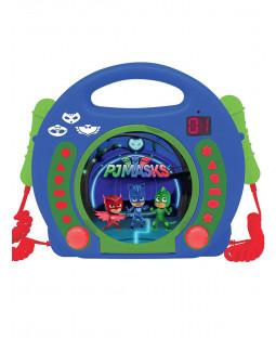 PJ Masks Reproductor de CD con micrófonos