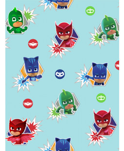 PJ Masks Wallpaper WP4-PJM-HRS-12
