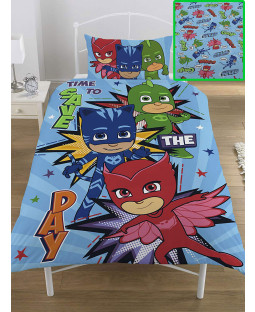 PJ Masks £50 Bedroom Makeover Kit Duvet Cover