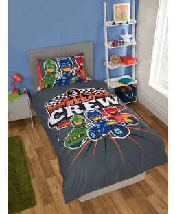 PJ Masks Hero Crew Single Duvet Cover Set