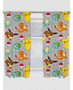 Pokemon Attraper les rideaux