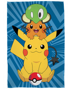 Pokemon Catch Fleece Blanket