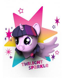My Little Pony 3D LED Wall Light - Twilight Sparkle