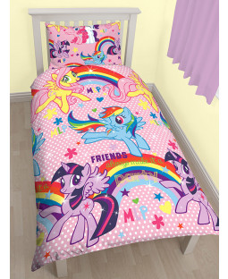 My Little Pony $88.21 Bedroom Makeover Kit Duvet Cover Front