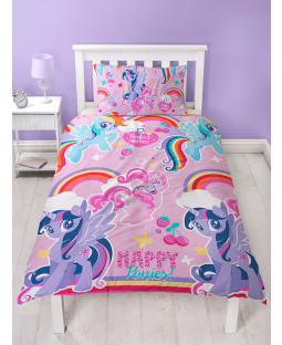 My Little Pony £50 Bedroom Makeover Kit Duvet Cover Front