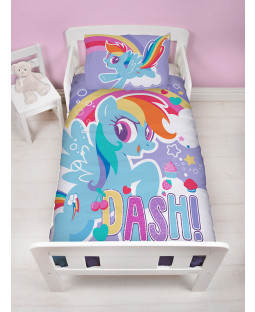 My Little Pony Crush Panel Junior Bedding Set