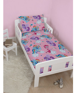 My Little Pony Cupcake 4 in 1 Toddler Bedding Set