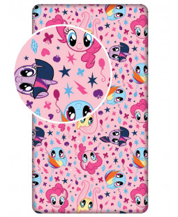 My Little Pony Pink Single Fitted Sheety
