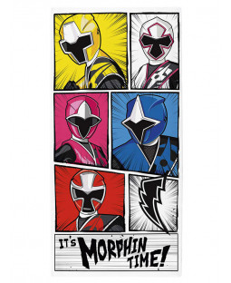 Power Rangers Morphin Time Towel