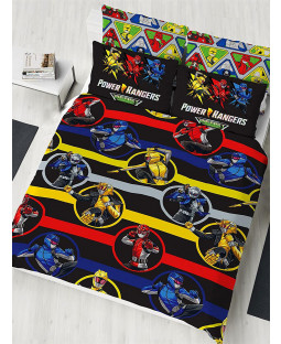Power Rangers Beast Morphers Double Duvet Cover Set