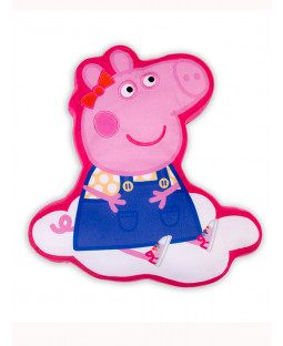 Peppa Pig Shaped Cushion