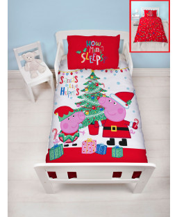 Peppa Pig Noel Single Panel Duvet Cover Set