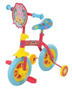 Peppa Pig 2 in 1 10 Inch Training Bike