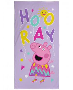 Peppa Pig Balloons Beach Towel