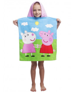 Peppa Pig Hooded Towel Poncho
