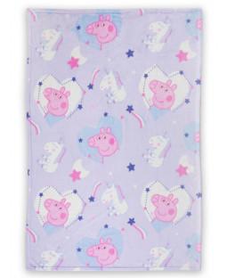 Peppa Pig Sleepy Fleece Blanket