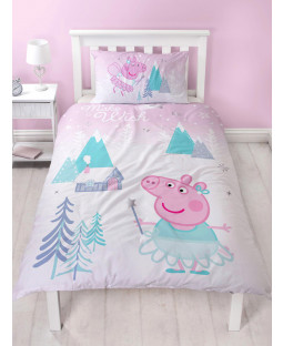 Peppa Pig Sugarplum Single Duvet Cover Set