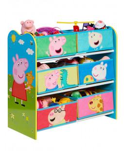 Peppa Pig 6 Bin Storage Unit