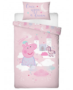 Peppa Pig Stardust Single Duvet Cover Set