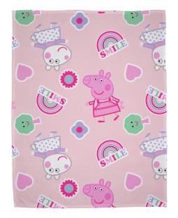 Peppa Pig Icon Fleece Blanket
