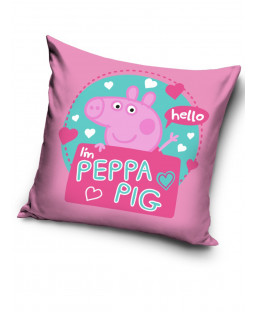 Peppa Pig Hello Filled Square Cushion