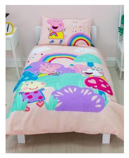Peppa Pig Storm Panel Junior Duvet Cover and Pillowcase Set