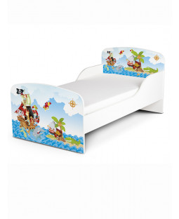 PriceRightHome Pirates Toddler Bed