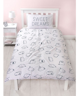 Pusheen Sweet Single Duvet Cover and Pillowcase Set