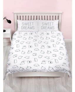 Pusheen Sweet King Size Duvet Cover and Pillowcase Set