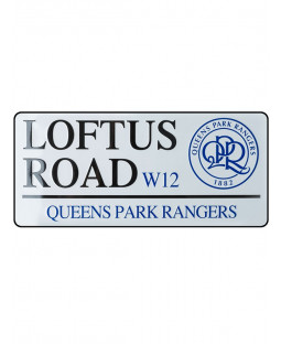 Queens Park Rangers FC Loftus Road Street Sign