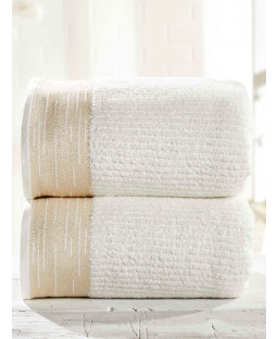 Mayfair 2 Piece Towel Bale Cream