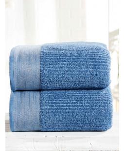 Mayfair 2 Piece Towel Bale Denim