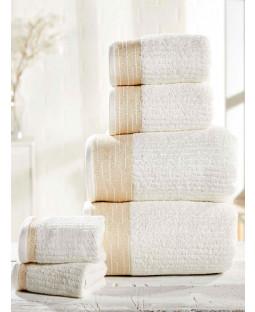 Mayfair 6 Piece Towel Bale Cream