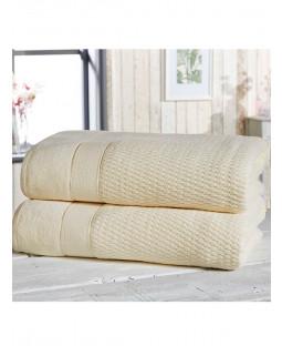 Royal Velvet 2 Piece Towel Bale Cream