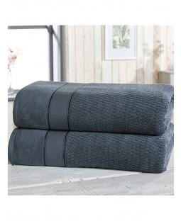 Royal Velvet 2 Piece Towel Bale Denim