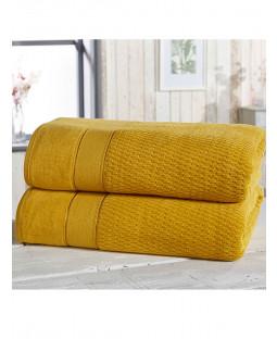 Royal Velvet 2 Piece Towel Bale Ochre